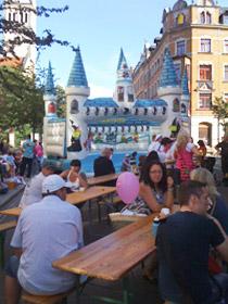 Straßenfest des Don Bosco Hauses und der Caritas am Sonnenberg