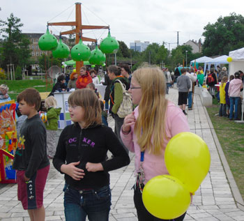 Stadtteilfest auf dem Sonnenberg in den Bunten Gärten, 2011