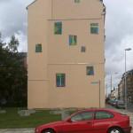 Fassadengestaltung von Künstlern in der Peterstraße