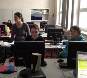 Die Ideenmaschine in der Pestalozzi Schule