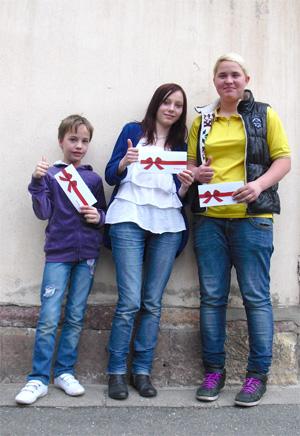 Die drei Gewinner des Fotowettbewerbs, Foto: planart4, 2012