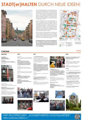 Plakatentwurf von planart4 für den Wettbewerb: Stadt bauen. Stadt erleben., 2012