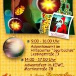 Plakat zum Adventsfest von D. Remestvenskyy