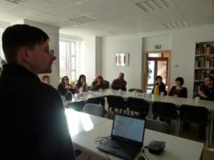 BI-Treffen im Bürgerzentrum mit Sebastian Resch