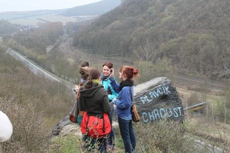 Berg besteigen in Tschechien