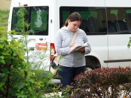 Buryana Todorova führt Buch