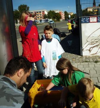 Kinder mit Friedrich Benzler