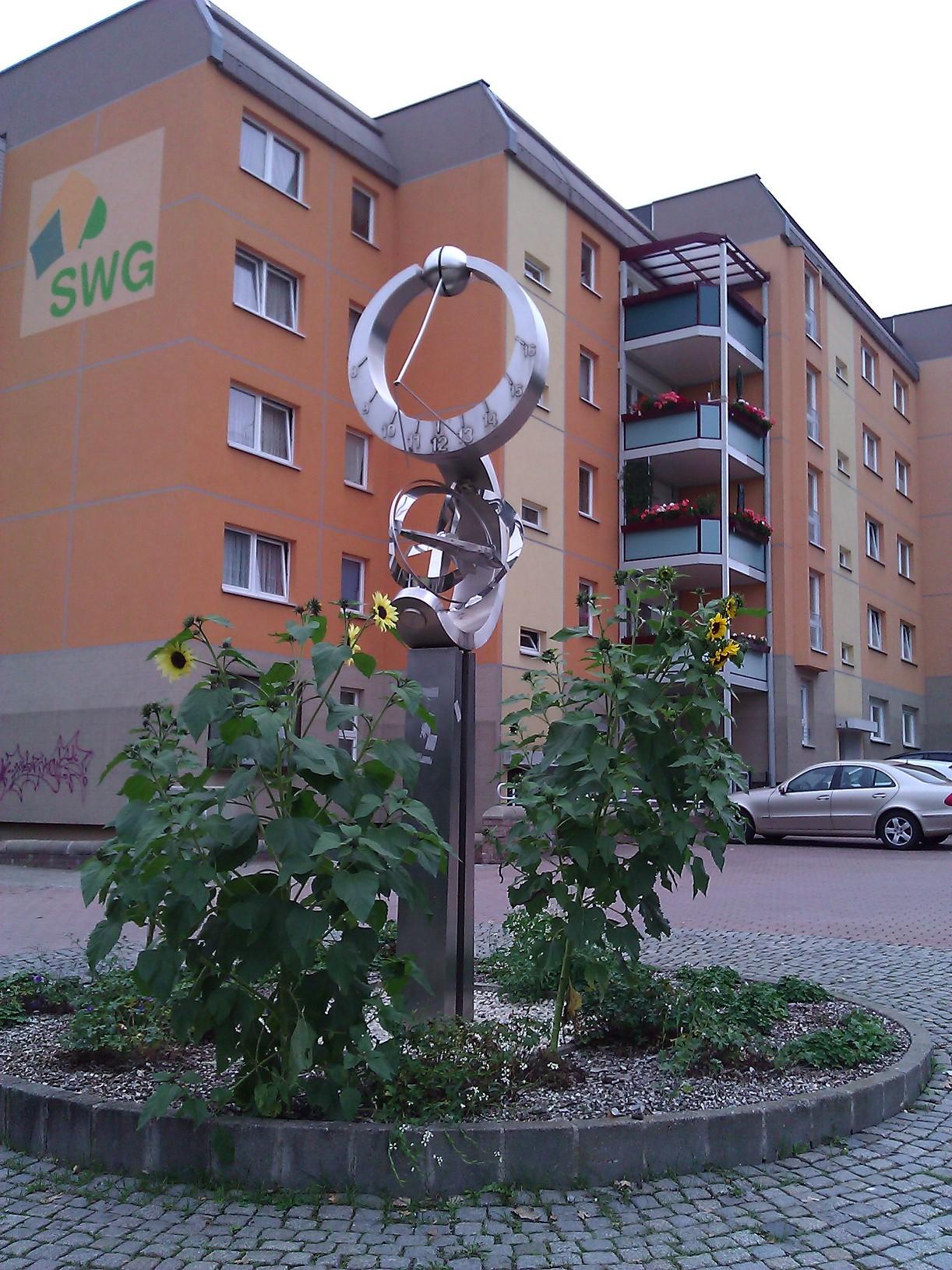 Sonnenblume an der Sonnenstraße