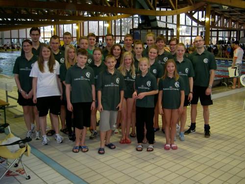 Schwimmer in Erlangen