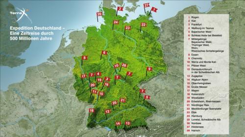 ZDF Karte Terra X