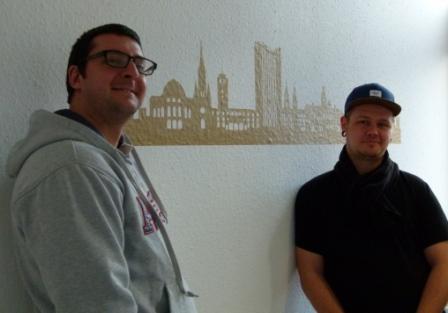 Felix Hanspach (links) und Andreas Preisler