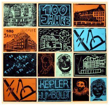 Signet 100 Jahre Schule auf der Humboldthöhe