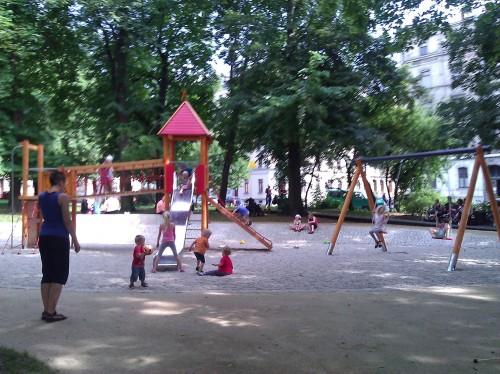 Lessingplatz offen