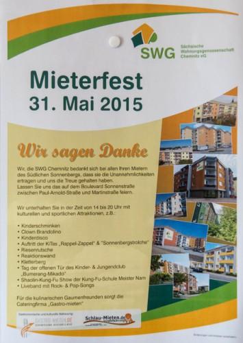 Mieterfest SWG