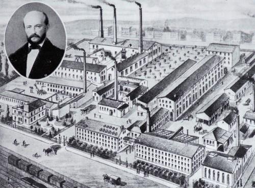 Maschinenfabrik Wiede um 1900