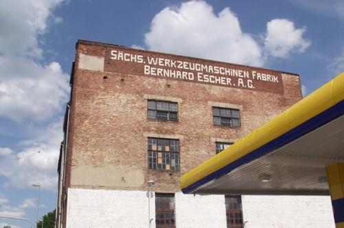 Restbetrieb Dresdner Str. vor Abbruch