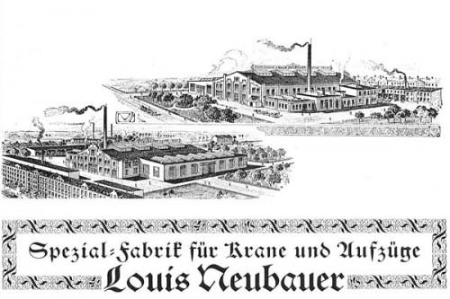 Werbeprospekt nach 1905