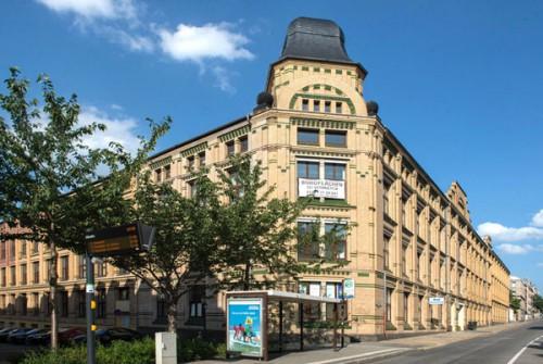 Gebäudekomplex Fürstenstr. heute