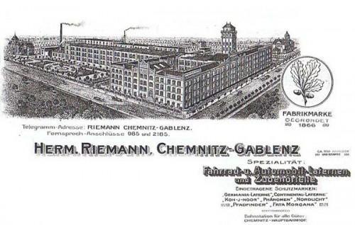 Firmenprospekt um 1910