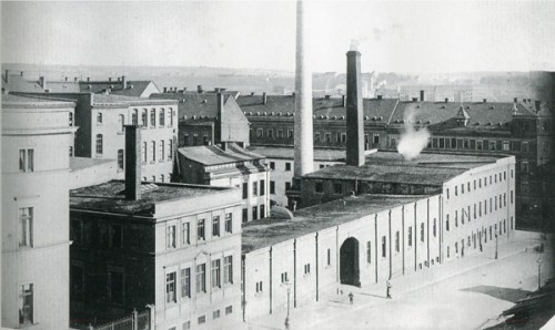 Ansicht von der Amalienstr./ heute Tschaikowskistr.