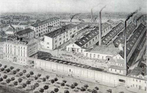 Eisengießerei Seidel um 1890