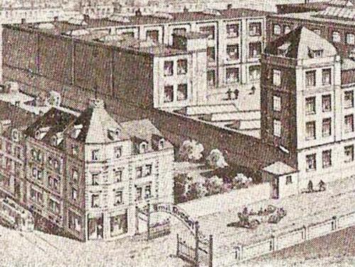 Gebäude der Riedel-Werke